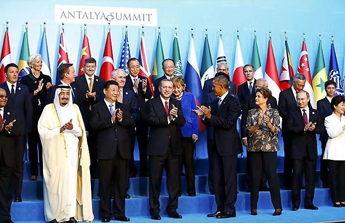 Reuters objektifinden Antalya'daki G-20 zirvesi galerisi resim 17