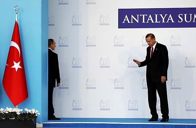 Reuters objektifinden Antalya'daki G-20 zirvesi galerisi resim 5