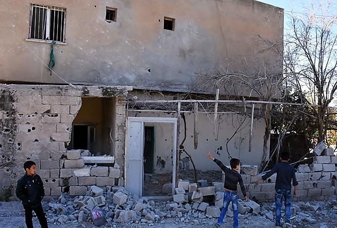 Çatışmalar sonrası Nusaybin'den çarpıcı kareler galerisi resim 10