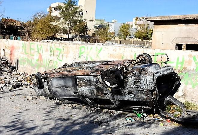 Çatışmalar sonrası Nusaybin'den çarpıcı kareler galerisi resim 11