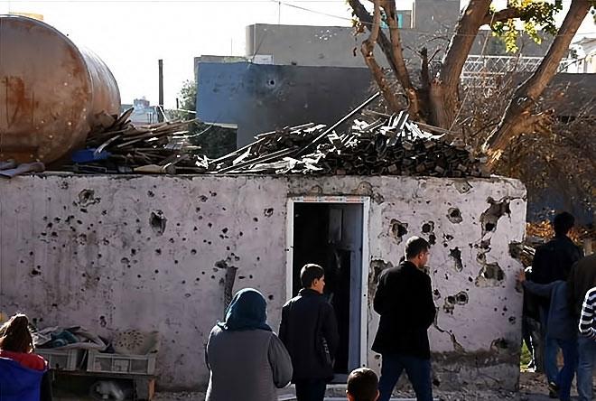 Çatışmalar sonrası Nusaybin'den çarpıcı kareler galerisi resim 13