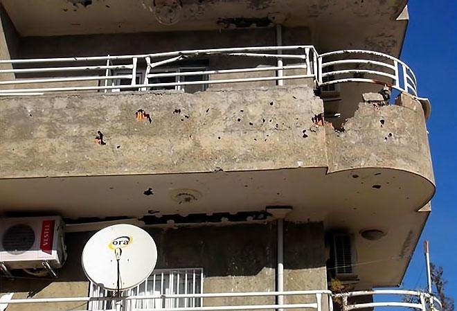 Çatışmalar sonrası Nusaybin'den çarpıcı kareler galerisi resim 15
