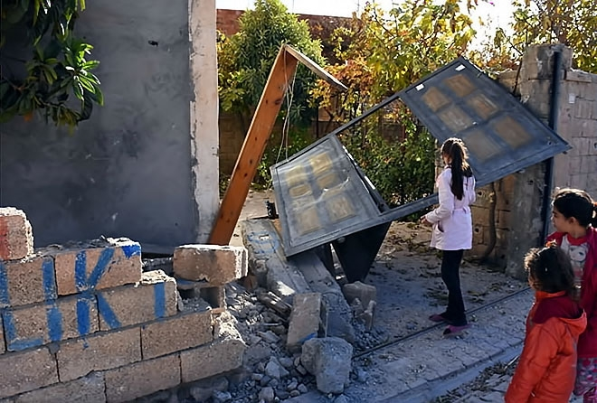 Çatışmalar sonrası Nusaybin'den çarpıcı kareler galerisi resim 16