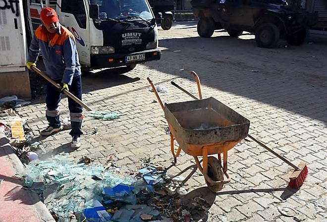 Çatışmalar sonrası Nusaybin'den çarpıcı kareler galerisi resim 4