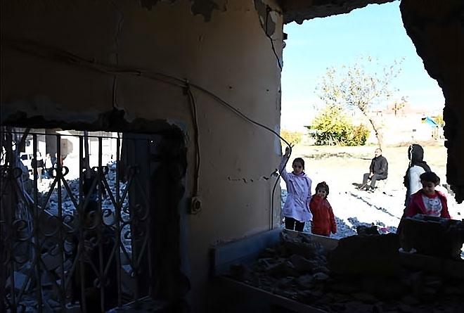 Çatışmalar sonrası Nusaybin'den çarpıcı kareler galerisi resim 5