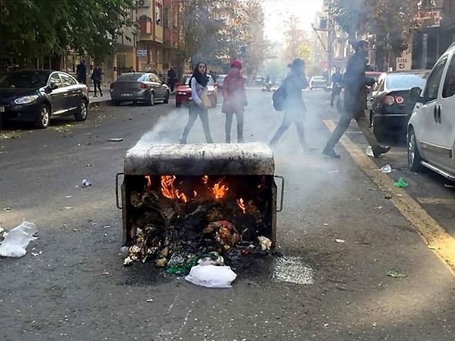Diyarbakır'da 'Sur' protestosunda olaylar çıktı galerisi resim 13