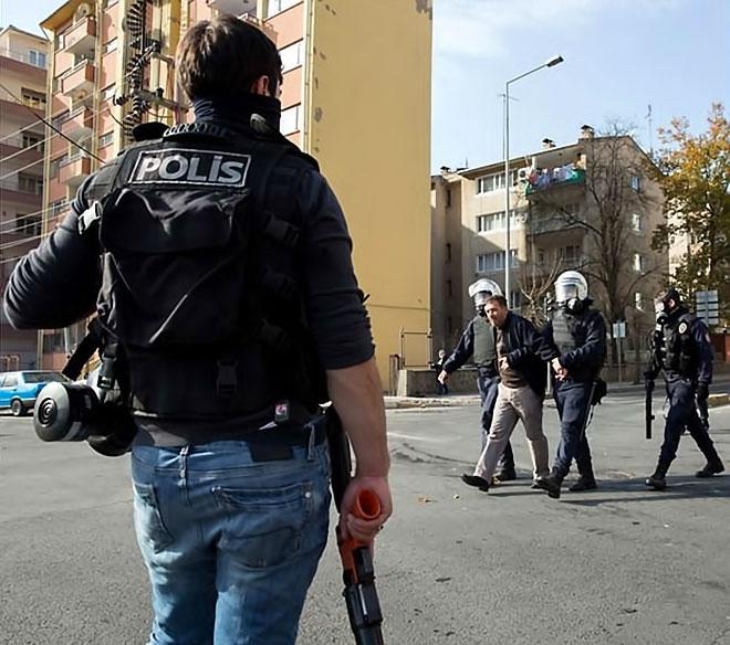 Diyarbakır'da 'Sur' protestosunda olaylar çıktı galerisi resim 20