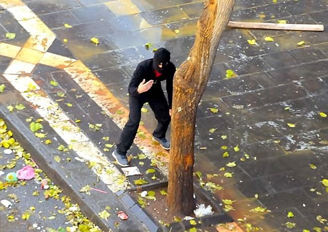 Diyarbakır'da 'Sur' protestosunda olaylar çıktı galerisi resim 26