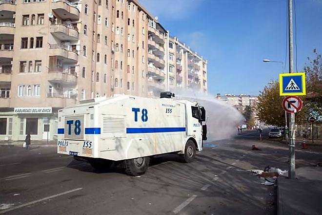 Diyarbakır'da 'Sur' protestosunda olaylar çıktı galerisi resim 27