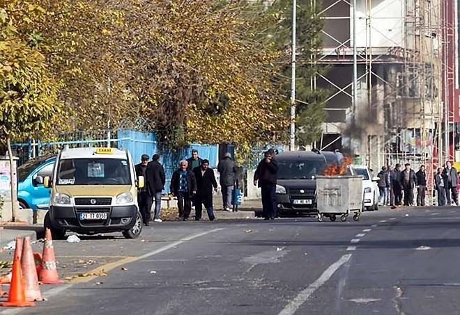 Diyarbakır'da 'Sur' protestosunda olaylar çıktı galerisi resim 30