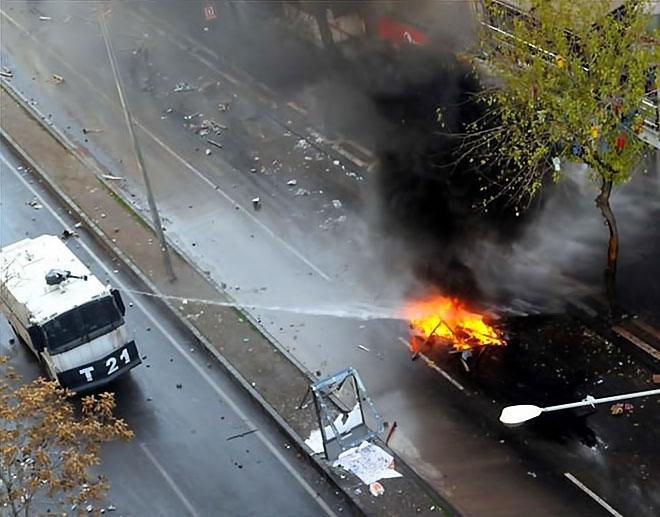 Diyarbakır'da 'Sur' protestosunda olaylar çıktı galerisi resim 44