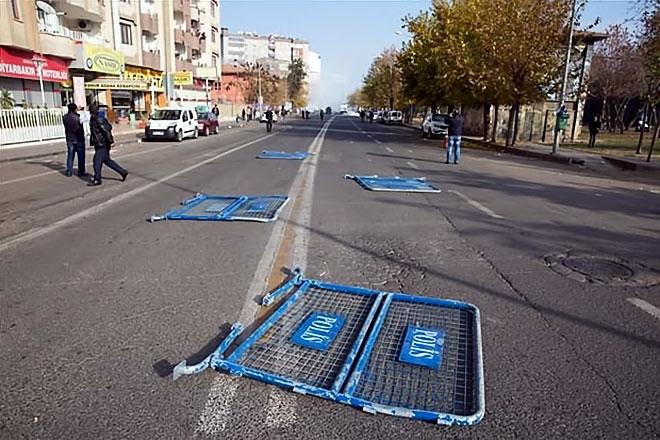 Diyarbakır'da 'Sur' protestosunda olaylar çıktı galerisi resim 48