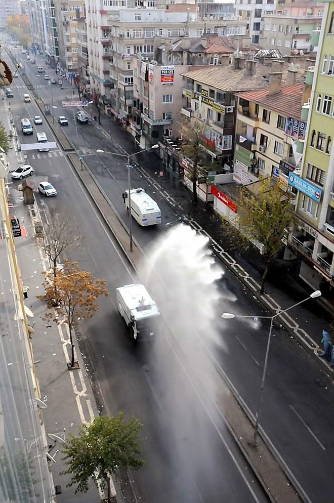 Diyarbakır'da 'Sur' protestosunda olaylar çıktı galerisi resim 53