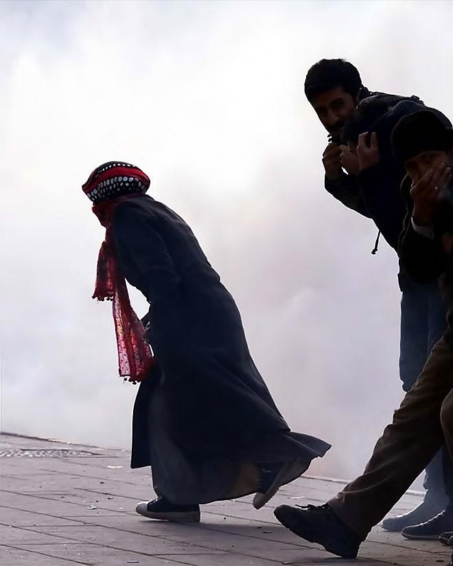 Van'daki protestolara polis müdahalesi galerisi resim 15