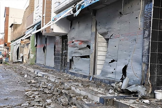 Silopi'den yıkım görüntüleri galerisi resim 12