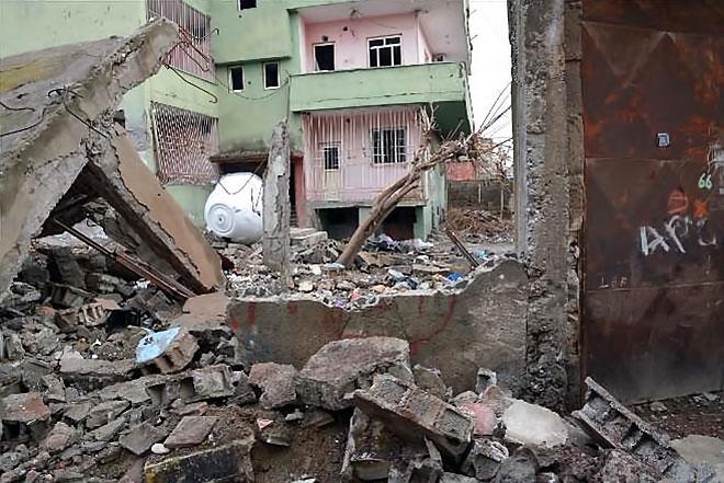 Silopi'den yıkım görüntüleri galerisi resim 18