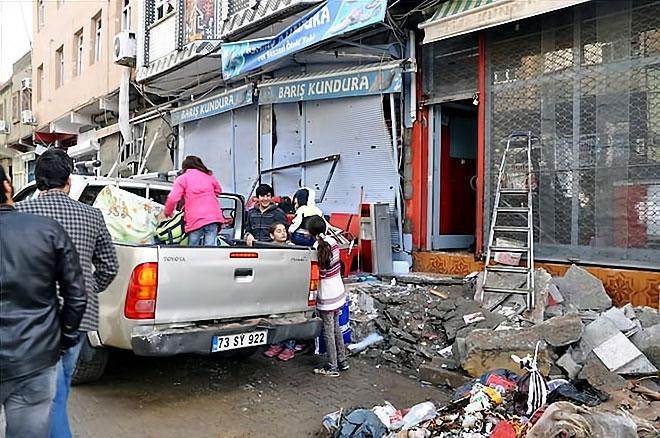 Silopi'den yıkım görüntüleri galerisi resim 4