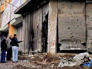 Silopi'den yıkım görüntüleri