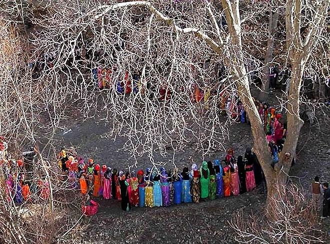 Rojhılat'ta renkli düğün... galerisi resim 14