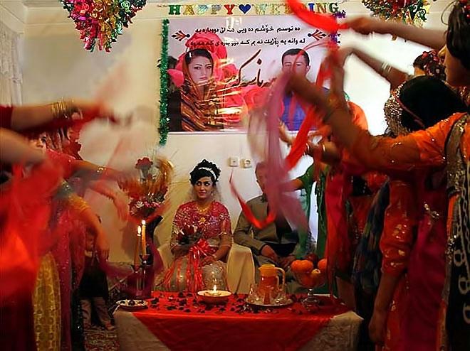 Rojhılat'ta renkli düğün... galerisi resim 6