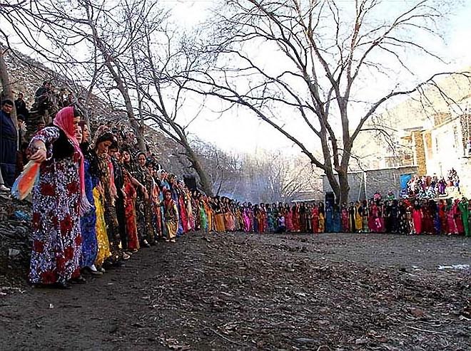 Rojhılat'ta renkli düğün... galerisi resim 7