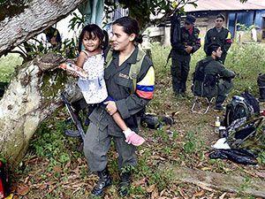Kolombiyalı savaşçı anneler