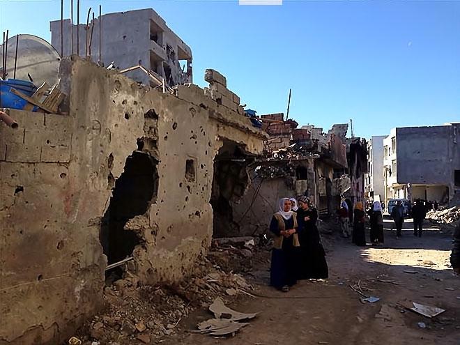 Fotoğraflarla Cizre'de yasak sonrası ilk gün galerisi resim 13