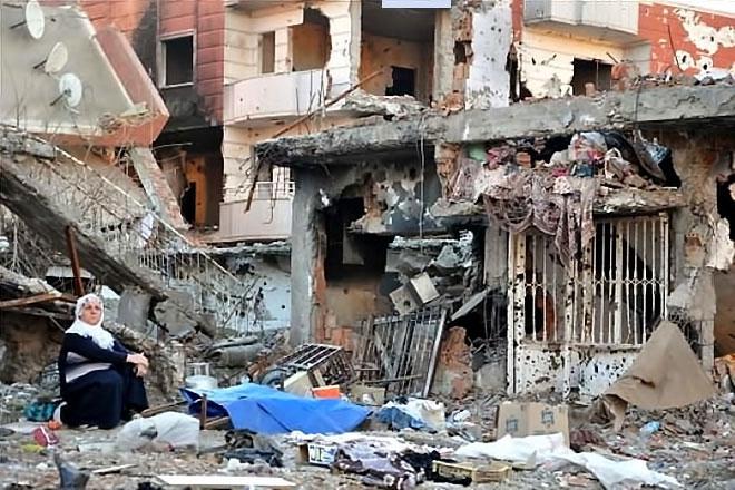 Fotoğraflarla Cizre'de yasak sonrası ilk gün galerisi resim 15