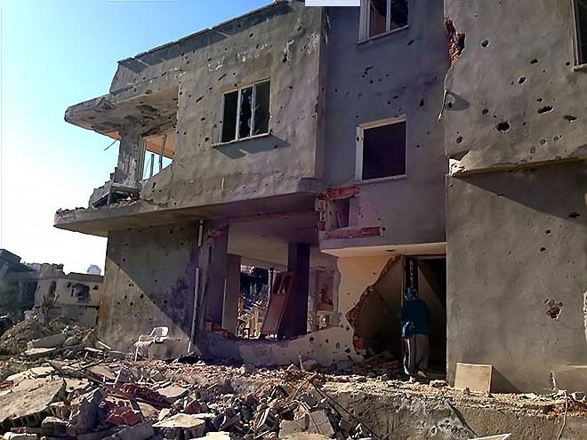 Fotoğraflarla Cizre'de yasak sonrası ilk gün galerisi resim 17