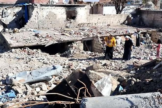 Fotoğraflarla Cizre'de yasak sonrası ilk gün galerisi resim 2