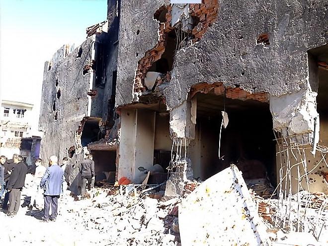 Fotoğraflarla Cizre'de yasak sonrası ilk gün galerisi resim 21