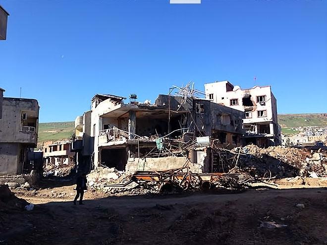 Fotoğraflarla Cizre'de yasak sonrası ilk gün galerisi resim 22