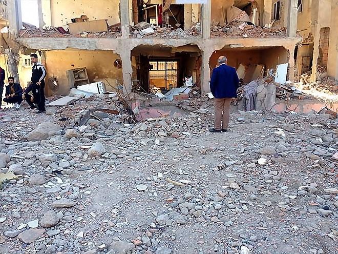 Fotoğraflarla Cizre'de yasak sonrası ilk gün galerisi resim 23
