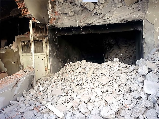 Fotoğraflarla Cizre'de yasak sonrası ilk gün galerisi resim 29