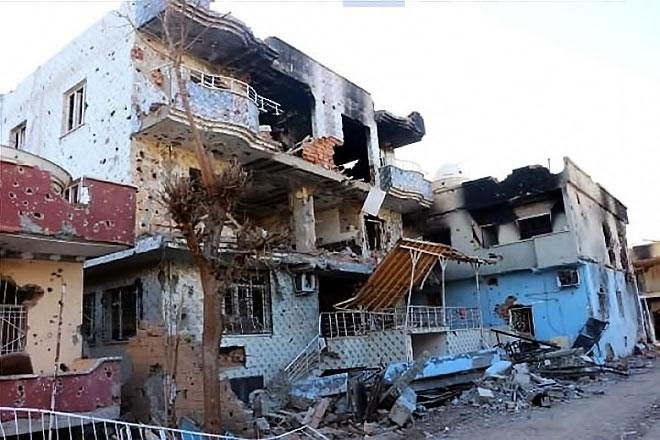 Fotoğraflarla Cizre'de yasak sonrası ilk gün galerisi resim 3