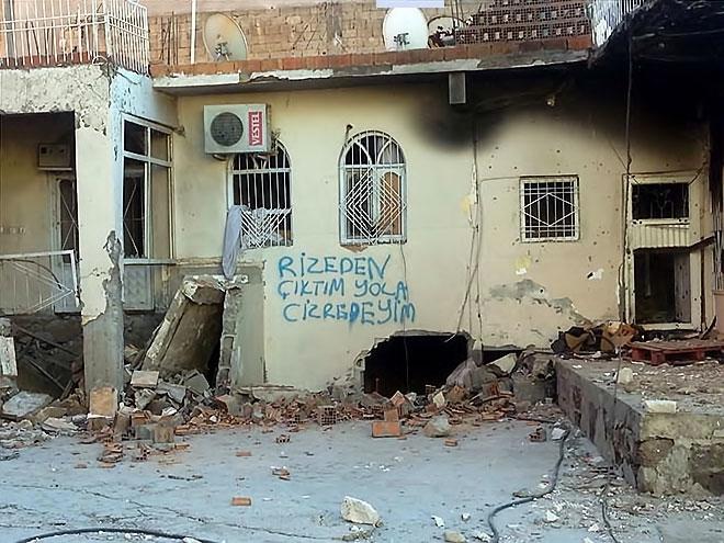 Fotoğraflarla Cizre'de yasak sonrası ilk gün galerisi resim 32
