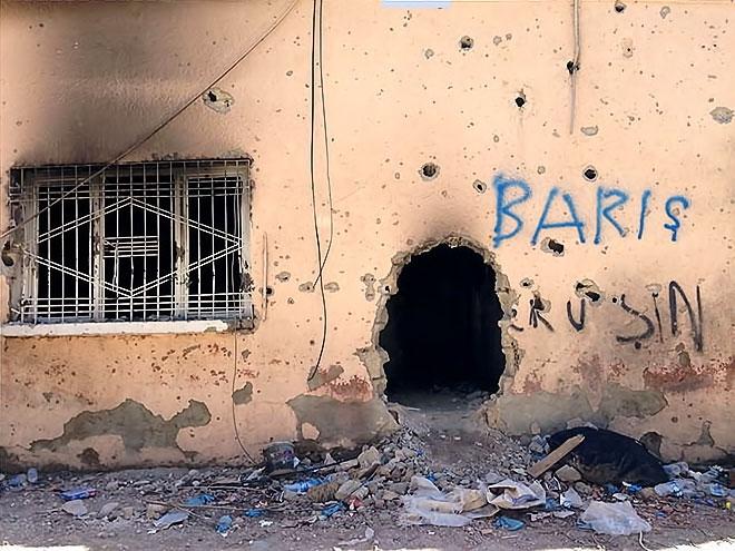 Fotoğraflarla Cizre'de yasak sonrası ilk gün galerisi resim 34