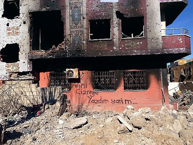 Fotoğraflarla Cizre'de yasak sonrası ilk gün galerisi resim 35