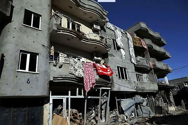Fotoğraflarla Cizre'de yasak sonrası ilk gün galerisi resim 45