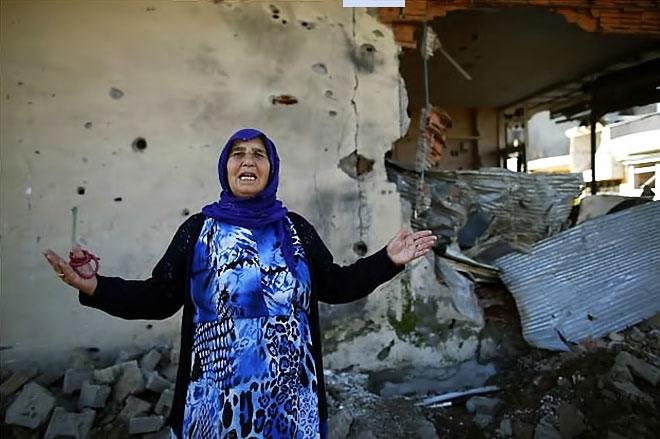 Fotoğraflarla Cizre'de yasak sonrası ilk gün galerisi resim 48