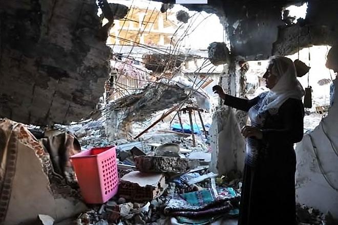 Fotoğraflarla Cizre'de yasak sonrası ilk gün galerisi resim 5