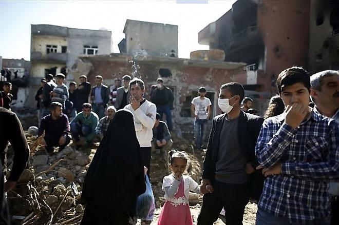 Fotoğraflarla Cizre'de yasak sonrası ilk gün galerisi resim 51