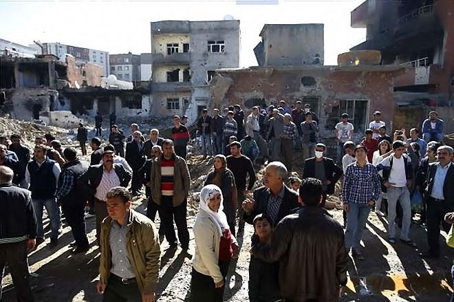 Fotoğraflarla Cizre'de yasak sonrası ilk gün galerisi resim 52