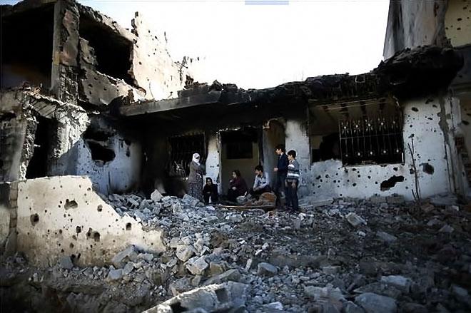 Fotoğraflarla Cizre'de yasak sonrası ilk gün galerisi resim 53