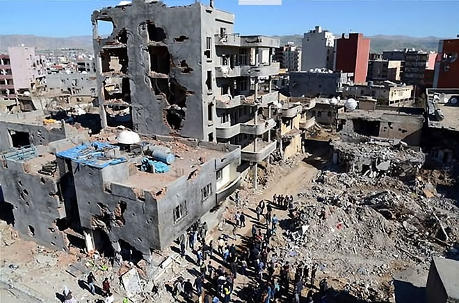 Fotoğraflarla Cizre'de yasak sonrası ilk gün galerisi resim 59