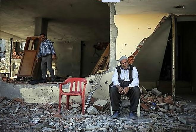Fotoğraflarla Cizre'de yasak sonrası ilk gün galerisi resim 60