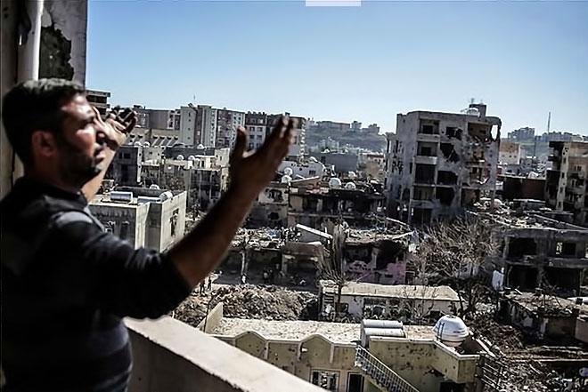 Fotoğraflarla Cizre'de yasak sonrası ilk gün galerisi resim 61