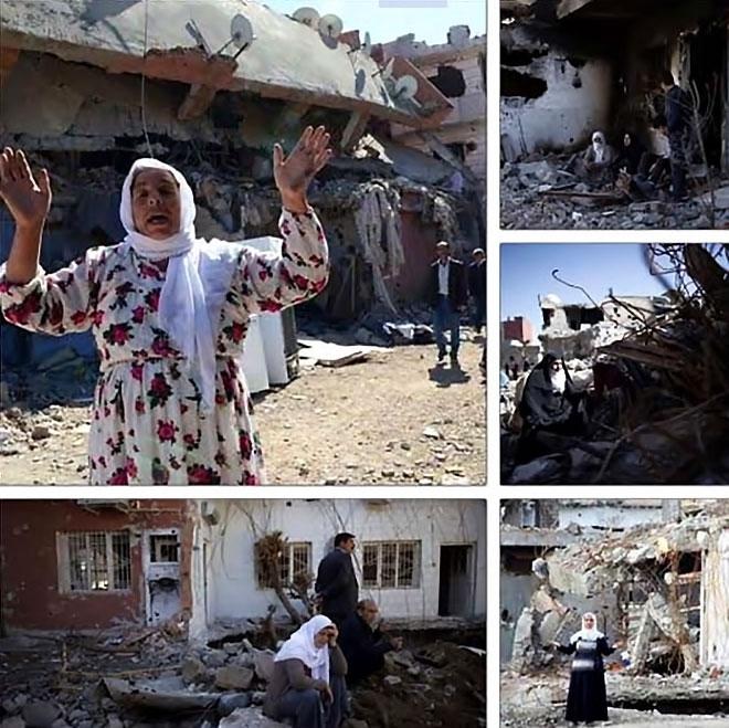 Fotoğraflarla Cizre'de yasak sonrası ilk gün galerisi resim 62