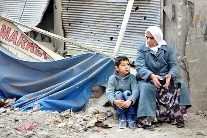 Fotoğraflarla Cizre'de yasak sonrası ilk gün galerisi resim 7