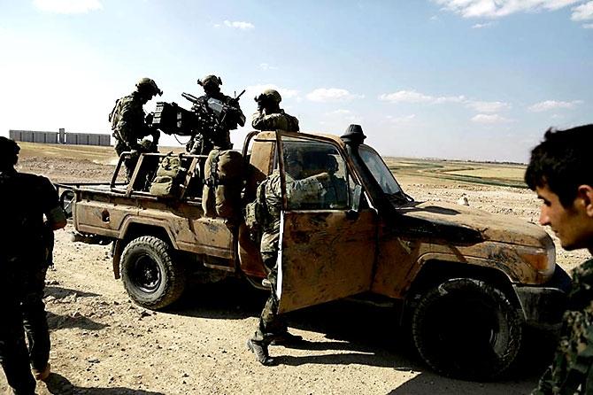 'YPG armalı' ABD askerleri galerisi resim 15